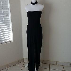 Sexy Black Long Dress